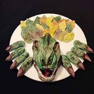 Dinosaur  - Cake by Cakes_bytea