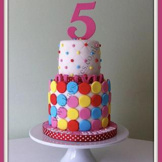 Two tier birthday