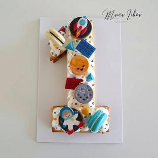 Astronaut - Cake by Maira Liboa