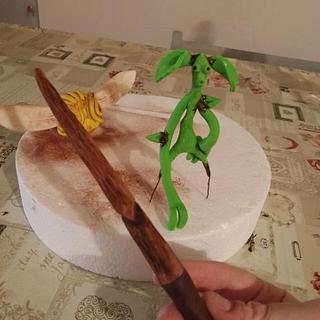 cake topper pickett boccino bacchetta