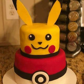 pikachu cake - Cake by WitchyCaker