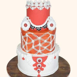 Kandyan Dancer's Ves Coustume Cake - Cake by Sultana Rajia Naznin