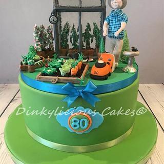 Ben's Garden Cake