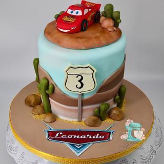 Cars cake  - Cake by Arianna
