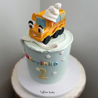 Bus in cap - Cake by SojkineTorty