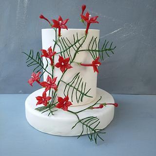 Vine cypress  cake