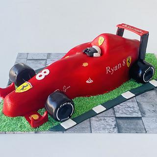 Ferrari - Cake by Rhona