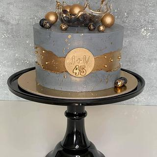 Fault line cake - Cake by Silvia Gundová