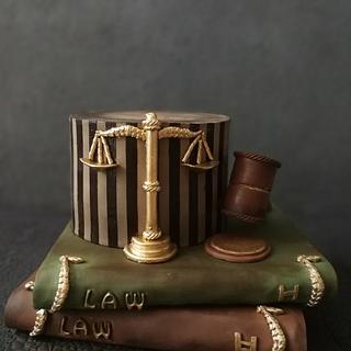 Law cake  - Cake by Royalcake