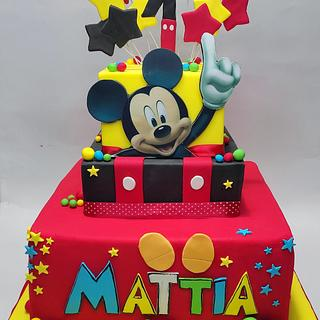 Mickey mouse cake  - Cake by Filomena