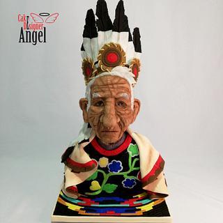 John Smith Chippewa  - Cake by Angel Torres