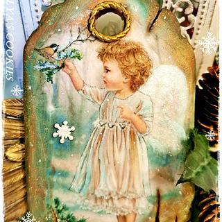 Christmas cookies/ANGEL - Cake by Galya's Art
