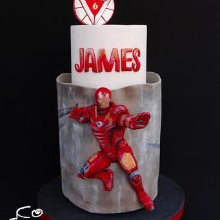 IRON MAN - Cake by Diana