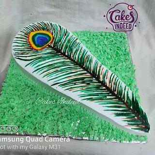 More Pankh Cake - Cake by Cakes Indeed