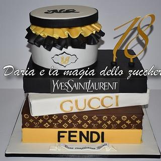 Fashion style cake for man
