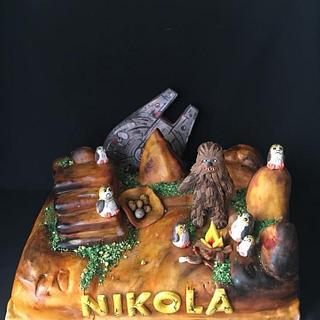 Star wars - Cake by Mira Mihaylova