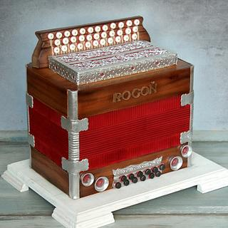 Accordion cake (Heligonka)