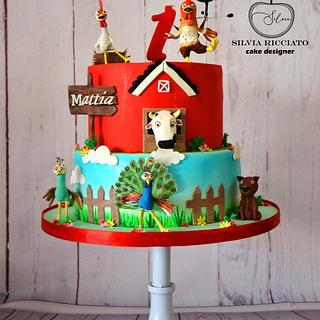 "cake ""la granja de zenon"" - Cake by Silvia Ricciato"