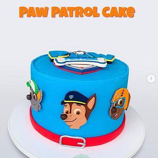 Torta de Paw Patrol en Medellín