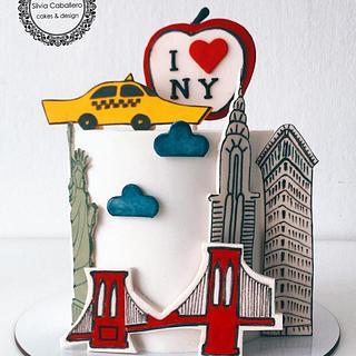 New York cake  - Cake by Silvia Caballero