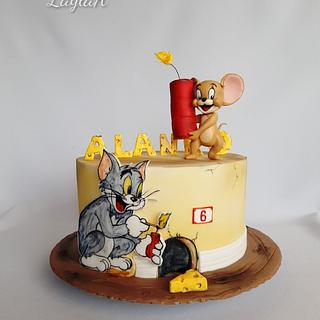 Tom and Jerry - Cake by Layla A