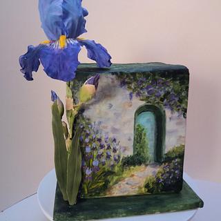 Iris cake