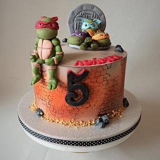 Ninja Turtles - Cake by Jitkap