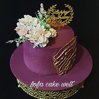 Birthday cake  - Cake by Fofaa22