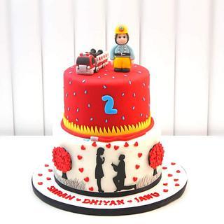 2 in 1 Theme Cakes