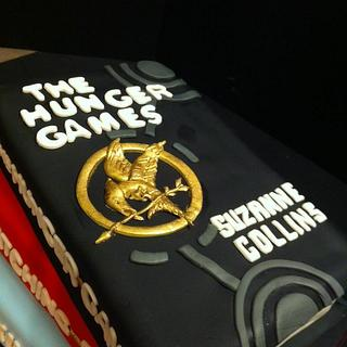 Hunger games book cake