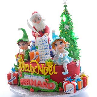 christmas cake - Cake by OxanaS