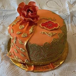 SARI CAKE FOR CORAL ANNIVERSARY