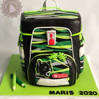 School bag  - Cake by MellisTortenzauber