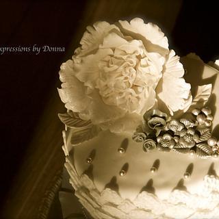Ruffle Peony Flower