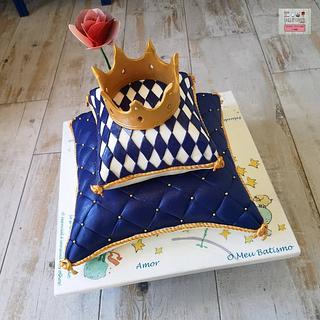Bolo Batismo Almofada - Pillow Cake