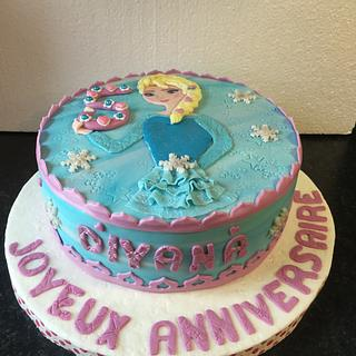 Elsa Frozen  - Cake by Artycake