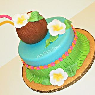 Hawaii is calling  - Cake by Ann-Marie Youngblood