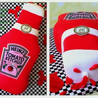 Heinz Tomato Ketchup Cake!