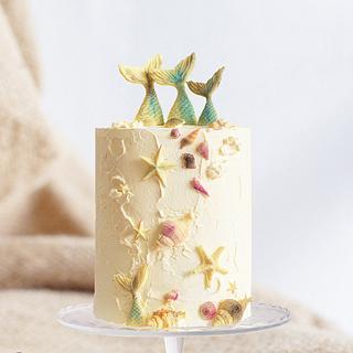 Syrenas - Cake by Tartas_Ljubi