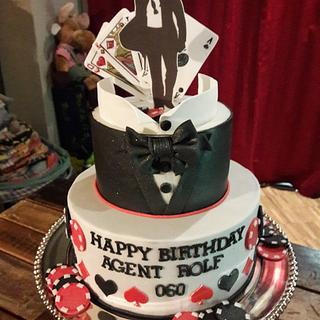 007 Cake - Cake by LaniesCakery