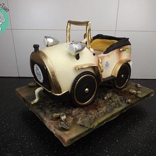 3D cake warsteiner car