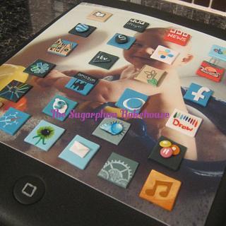 iPad Cake - Cake by Sam Harrison