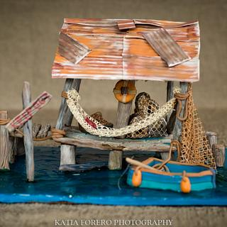 Sweet Summer COllaboration - Fishing Hut