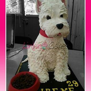 Tarta perro - Cake by Cynthia Aviles