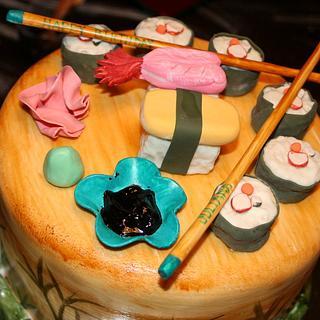 Sushi Cake - Cake by CakeEnvy