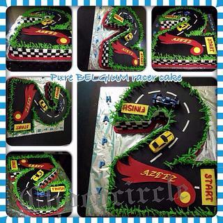 I turn 2 - Cake by Chococircle