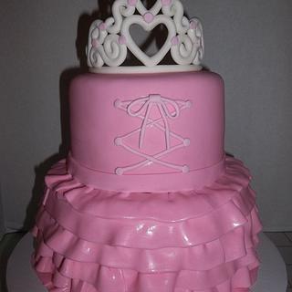 Ballerina Dress Cake