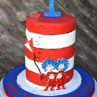 Cat in the Hat - Cake by Susan