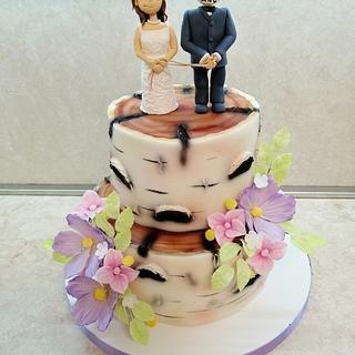 Wedding fun cake