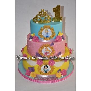 Disney Princesses cake